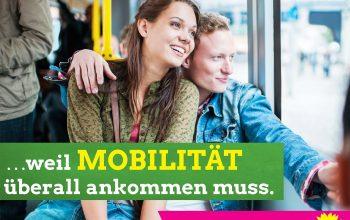 Plakat Mobilität