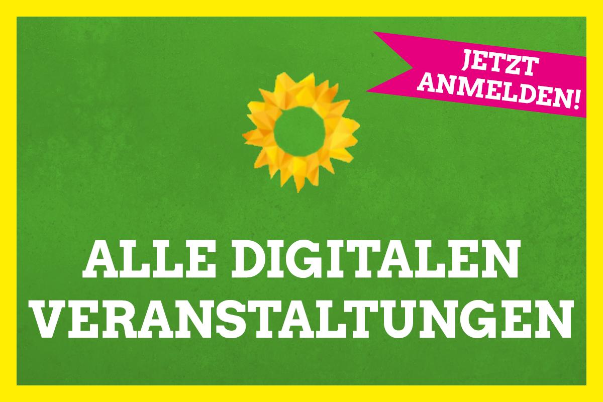 Grüne Veranstaltungen digital – Mach mit!
